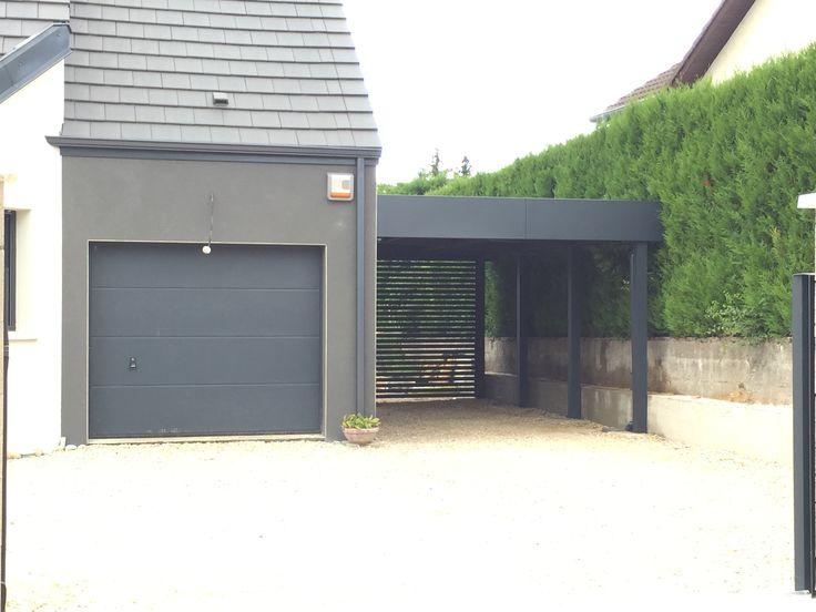les 25 meilleures id es concernant carport alu sur pinterest pergola alu veranda alu et. Black Bedroom Furniture Sets. Home Design Ideas