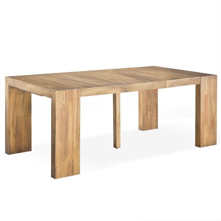 Console pliante good table console alinea desserte table for Console a rallonge conforama