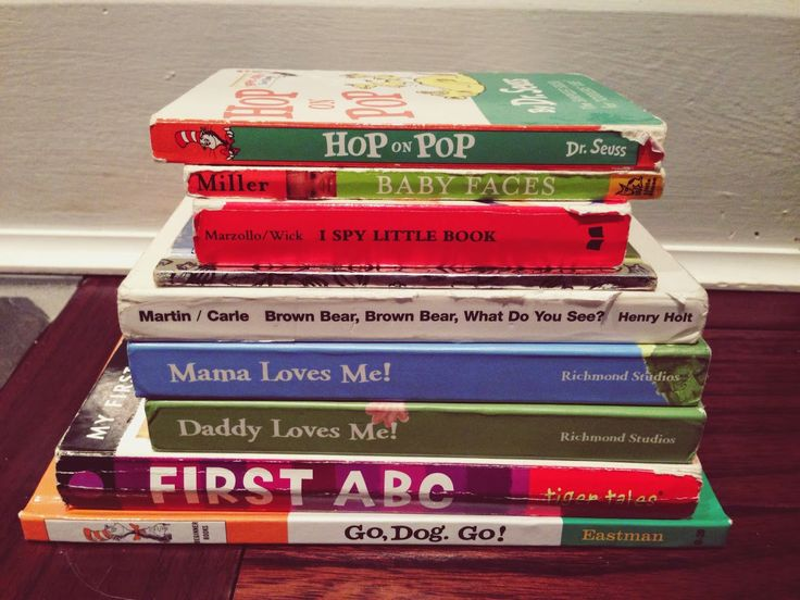Best Books for 1 - 2 Year Olds