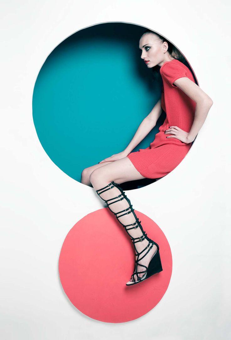 Liz Von Hoene #studio #fashion #photography