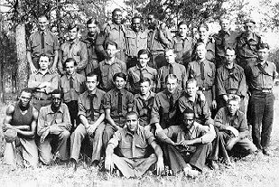 Roosevelt's Tree Army, MCCC. May 2 1933: 200 young men from Detroit  arrived at an isolated spot in the Hiawatha National Forest, near Sault Ste. Marie. They had been outfitted, inoculated and briefly oriented at Camp Custer in Battle Creek before being shipped to the U.P.. Within months there were 41 similar camps across N. Michigan housing nearly 8000 young men. The Civilian Conservation Corps (CCC) had come to Michigan.