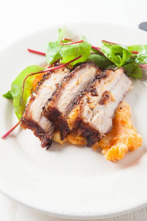 Varkensbuik, varkensspek, speklap of hoe je het ook noemen wilt is - mits op de juiste manier bereid - een heerlijk stukje vlees!