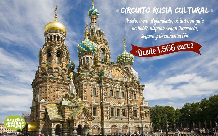 RUSIA CULTURA DESDE 1.566 EUROS http://muchomasqueunviaje.com/viaje-a-rusia.php  PIDE MÁS INFORMACIÓN A info@muchomasqueunviaje.com o llamando al 936645917  Para más ofertas puedes entrar a www.muchomasqueunviaje.com