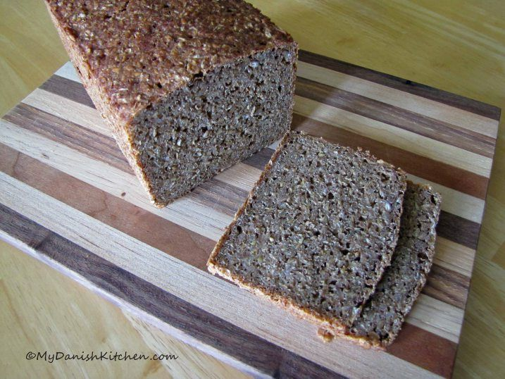 Rugbrød -  Dark Rye BreadElaborate Piece, Breads Recipe, Danishes Households, Dark Rye, No Sugar, Open Facs Sandwiches, Danishes Food, Rye Breads, Piece Bought