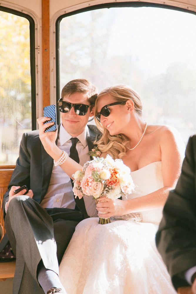Wedding Day Selfies | Rachel & Ben's Lace Factory Connecticut Wedding | Sweet Little Photographs
