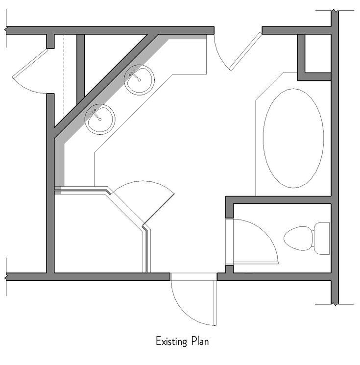 Bathroom Layout Double Sink 51 best granny flat images on pinterest | bathroom ideas, master