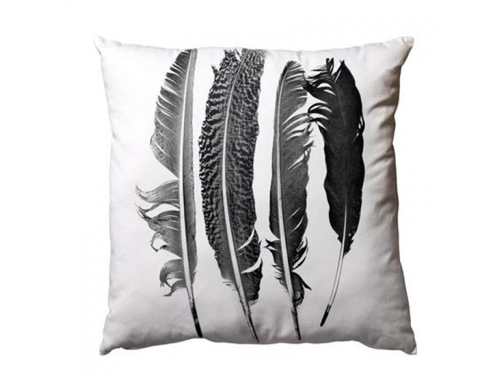 Bloomingville kussen feathers