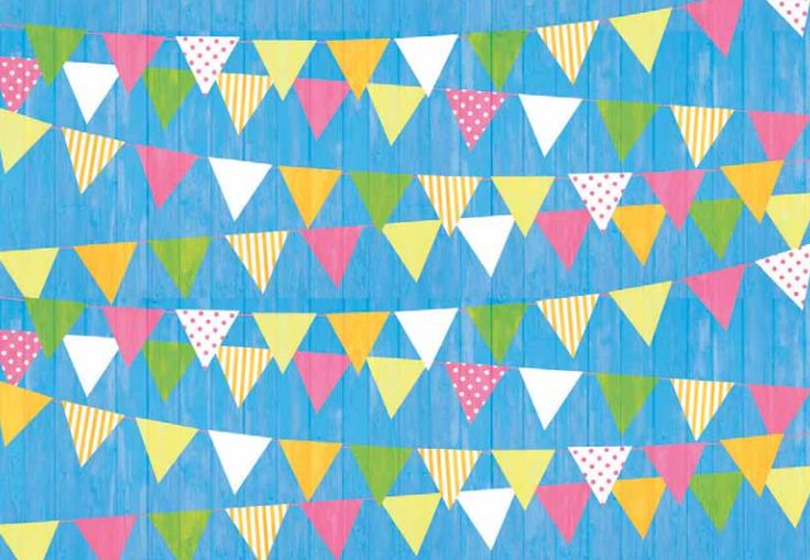 Beautiful bunting http://www.cardmakingandpapercraft.com/download/pretty-summer-fete-papers