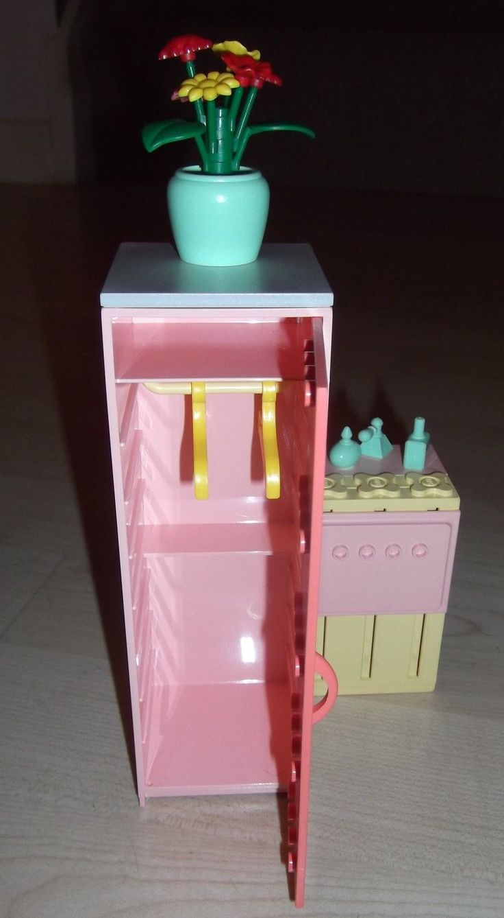 Lego Vintage Scala Girls Pink Dolls House Bathroom 3242 Set 1997 Rare | eBay