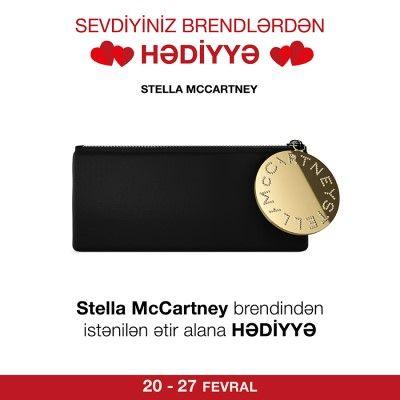 #Stella #McCartney brendindən istənilən #ətir alana #kosmetik çanta #hədiyyə