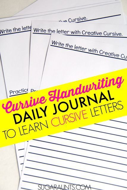 learn to write cursive Kids should learn cursive write this in cursive 10 times and see how long it takes then print it in manuscript 10 times and see how long it takes which is faster, neater, or more legible one reason to learn cursive is because for many kids, it.