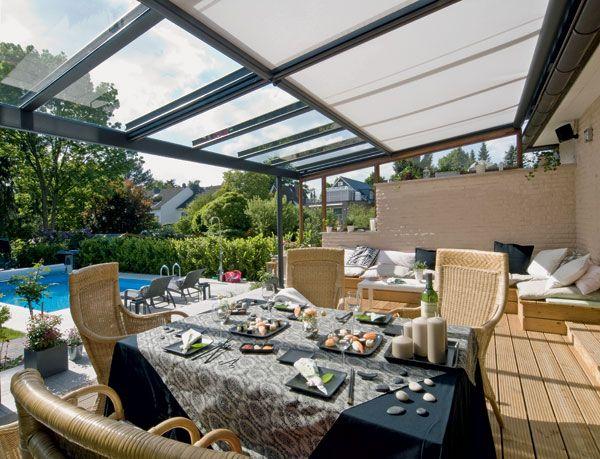 Terrazza Glass Roof Structures - Blindfolded.co.uk  Modular alternative to vergola