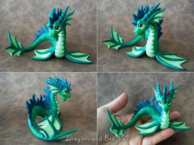 Sculptober : Aquatic by DragonsAndBeasties.deviantart.com on @deviantART