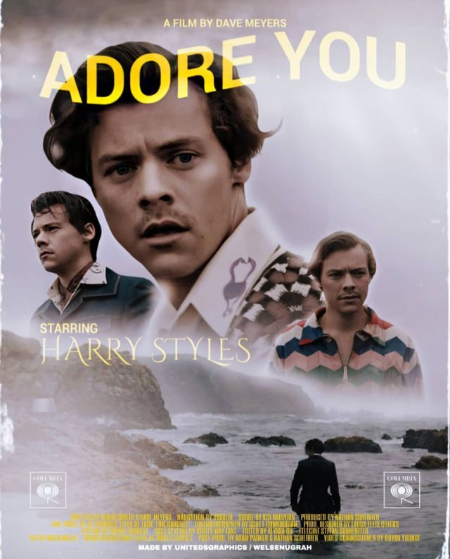 adore you movie poster 2 harry