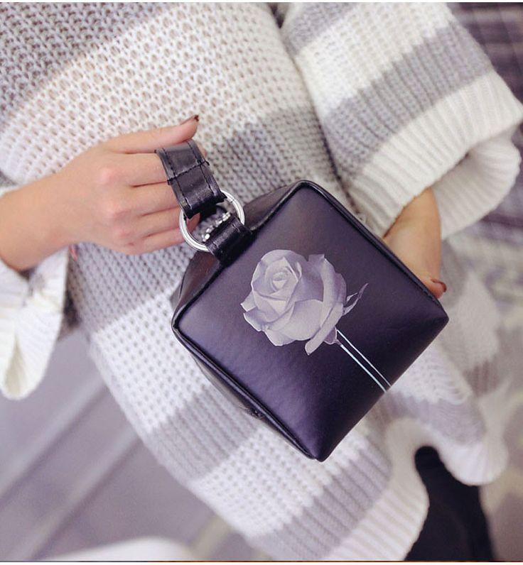 Aliexpress.com : Buy RoyaDong 2016 New Women Messenger Bags Pu Leather Flap Mini Shoulder Bag Ladies Flowers Handbags Crossbody Bags Rose Bolsos Sac from Reliable bag repair suppliers on Baoding Roya Trade co.,LTD | Alibaba Group