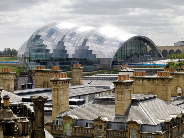 Foster + Partners, Nigel Young · The Sage Gateshead