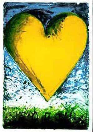 Jim Dine heart series