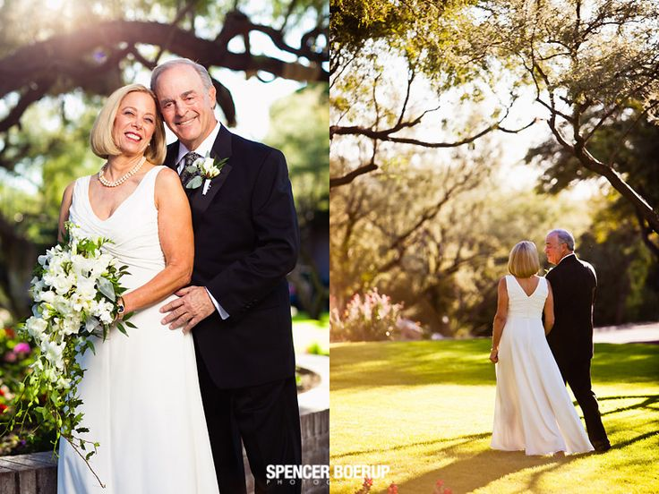 tucson ventana lodge jewish wedding arizona golf course ketuba older couple