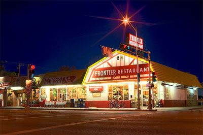 The Frontier Restaurant - An Albuquerque staple for over thirty years.