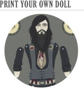 A free download from Lindsey Carr. Jointed paper dolls are so much fun!Paperdolls