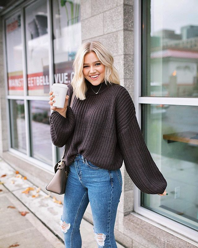 lässiger Sweater-Look – Casual Style