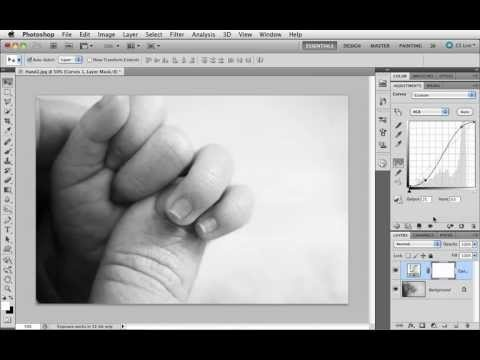 Grunderna i Photoshop CS5 - 26 Kontrast med kurvor