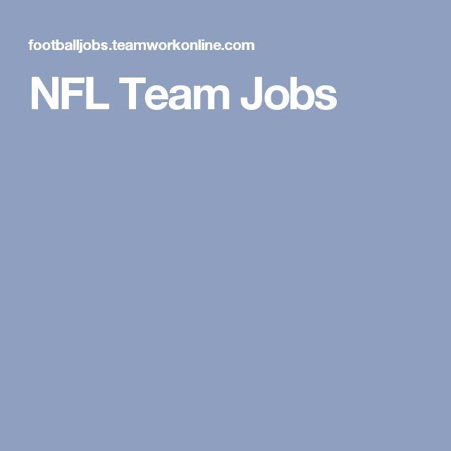 NFL Team Jobs
