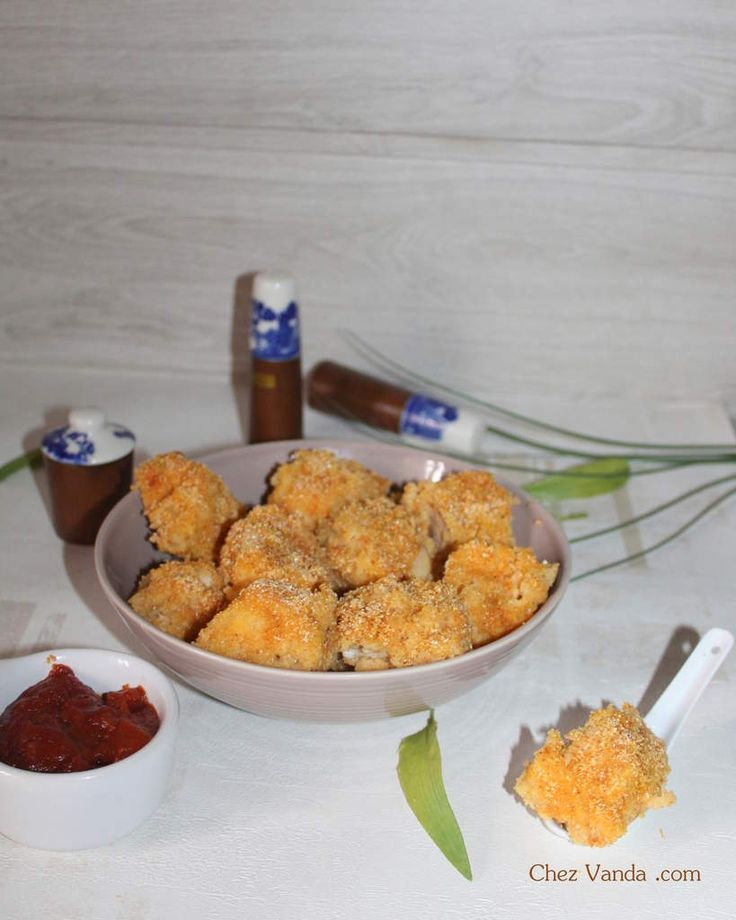 Nuggets De Poulet Maison Recette De Nuggets De Poulet: Nuggets De Poulet Fait Maison