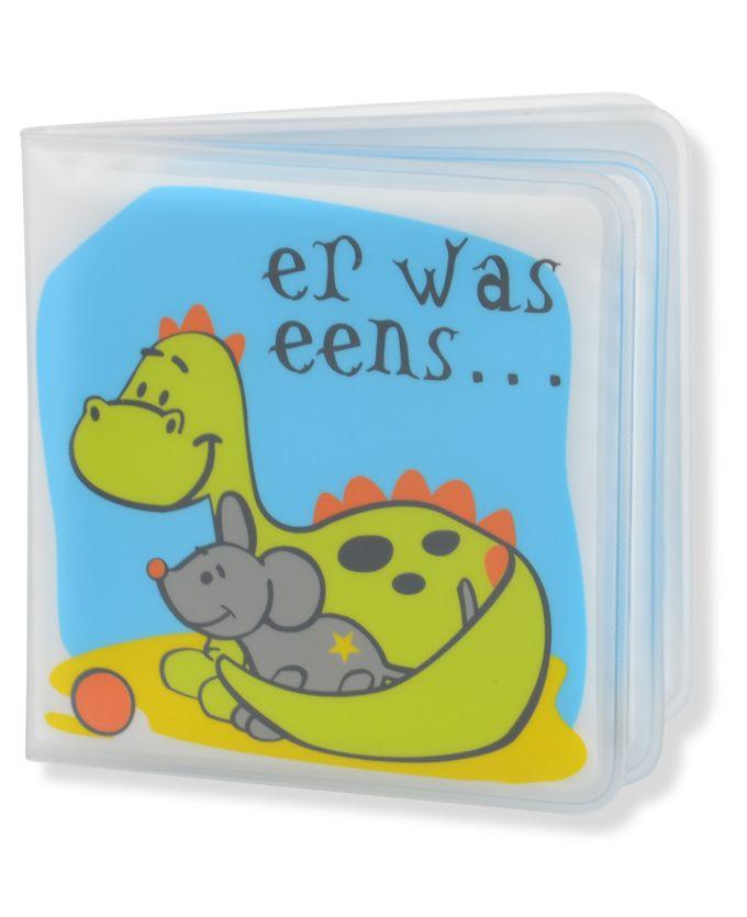 er was eens... een badboekje van #draakje :) #prenatal