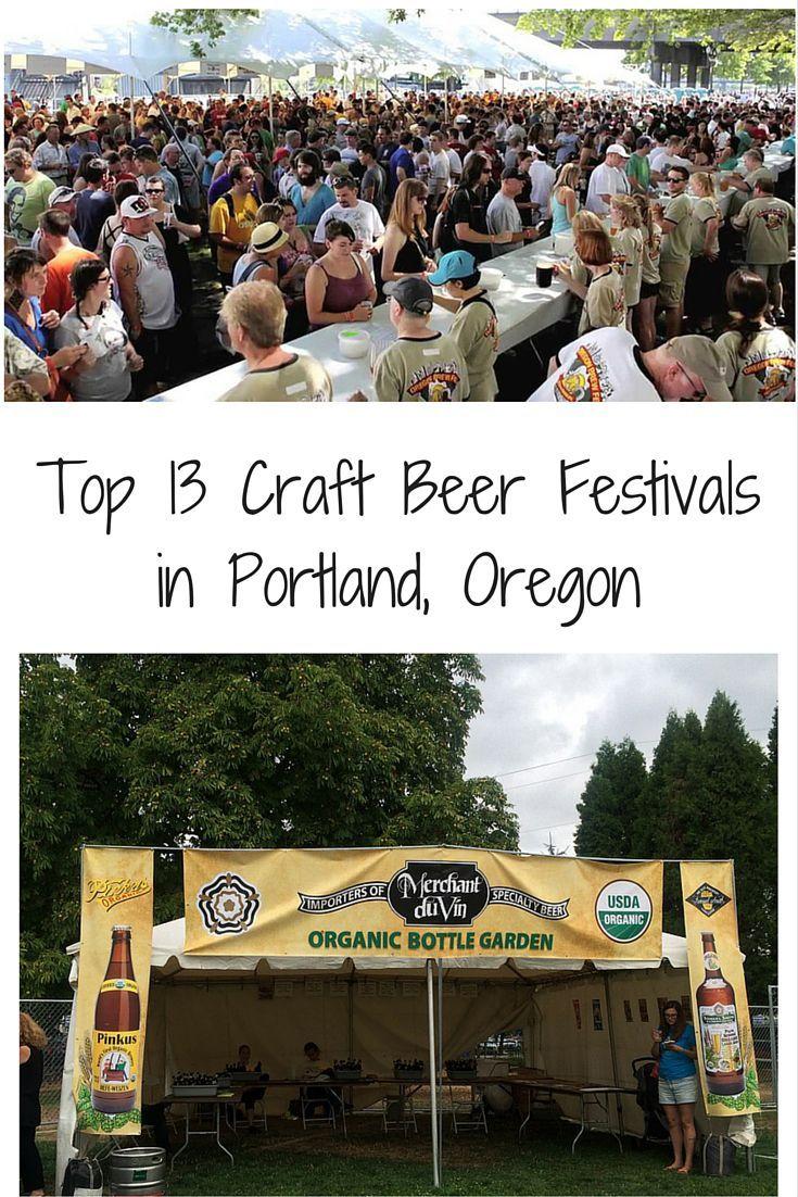 Top 13 Craft Beer Festivals in Portland, Oregon