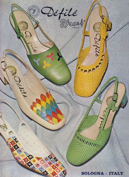 385 Best Images About Vintage Shoes Bags 1960 S On
