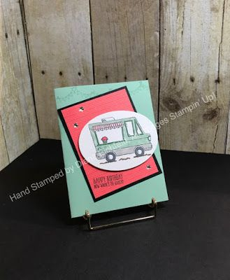 Stampin' Fun with Diana: SSINKspiration Sale-a-bration Preview: Tasty Trucks