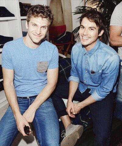 Pretty Little Liars - Keegan Allen and Tyler Blackburn ♥