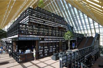 El prestigioso estudio holandés  es el autor de esta singular biblioteca con forma de pirámide que se sitúa en Spijkenisse, una población con pasado agrícola situada cerca de los muelles del…