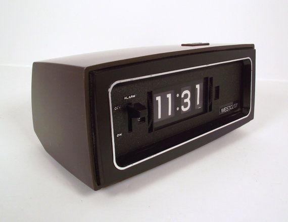 Oooh retro bedside clocks.