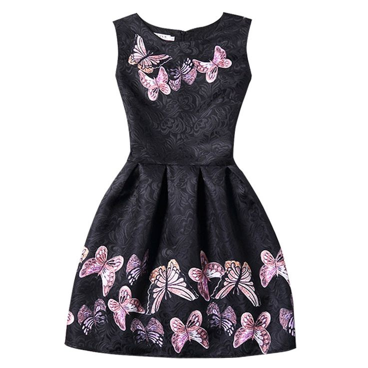 2017 Summer Women Dresses Women's Fashion A-Line Sleeveless Casual Dress Party Dress for lady,Women Clothing  #Affiliate
