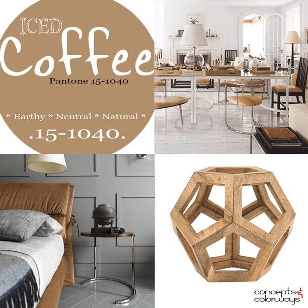 Pantone Iced Coffee Pantone Coffee And Interiors
