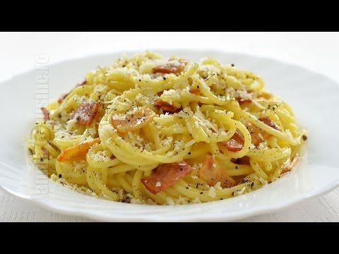 (120) Spaghete carbonara | JamilaCuisine - YouTube