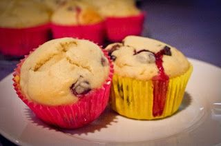 Thermomix    Weight Watchers Banana and Blueberry Muffins- 3 ProPoints
