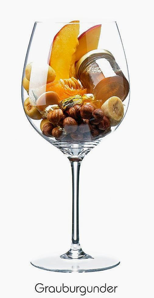 Pinot gris or Grauburgunder (white) | Aromas of banana, melon, apricot, hazelnut, honey, caramel | Burgundy, France