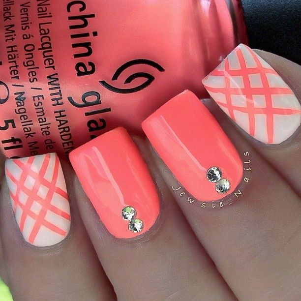 Coral Color Nail Designs: 1000+ Ideas About Coral Nail Designs On Pinterest