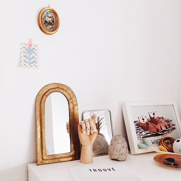 25+ Best Ideas About Small Mirrors On Pinterest