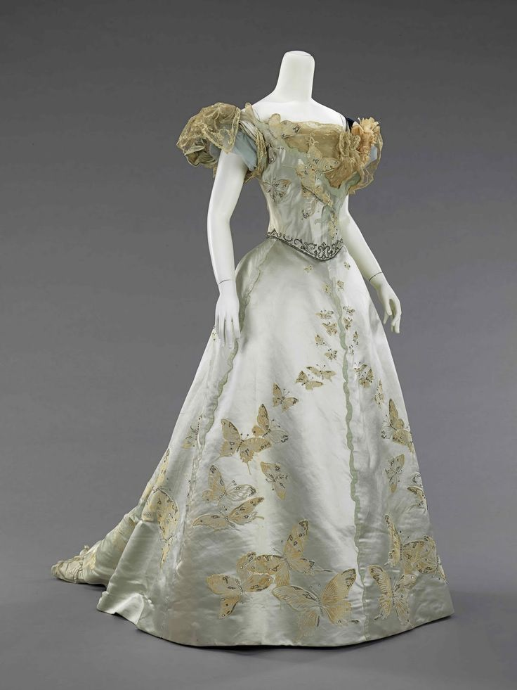 Ball gown, 1898