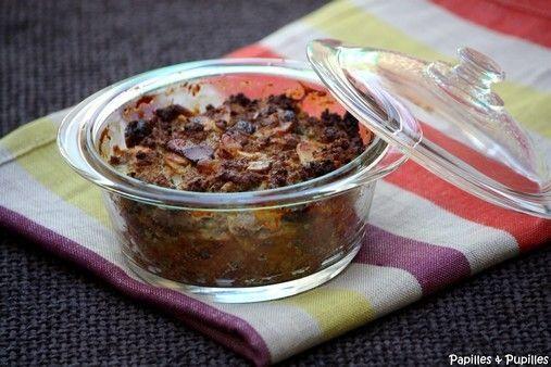 Bobotie du Cap - Recette d'Afrique du Sud Cape Town bobotie - South African recipe