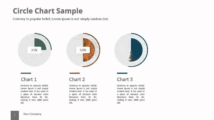 Circle Chart V.1 Powerpoint Template