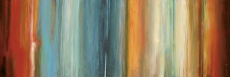 """Piece: """"Flow II"""".  Artist: Max Hansen.  Size: 54"""" x 18.8"""".  Presentation: canvas."""