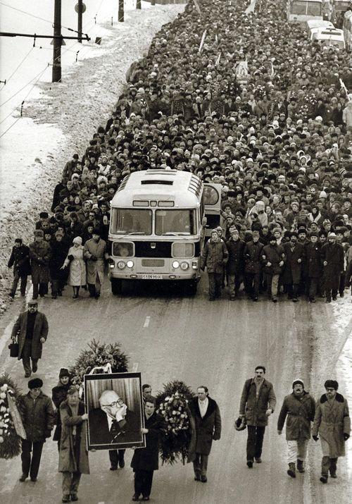 Andrei Sakharov funeral. Moscow, December, 1989  [::SemAp FB || SemAp::]