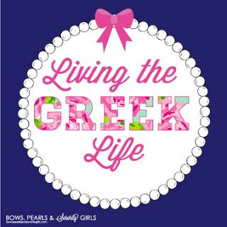 Living the GREEK Life  Bows, Pearls, and Southern Sorority Girls
