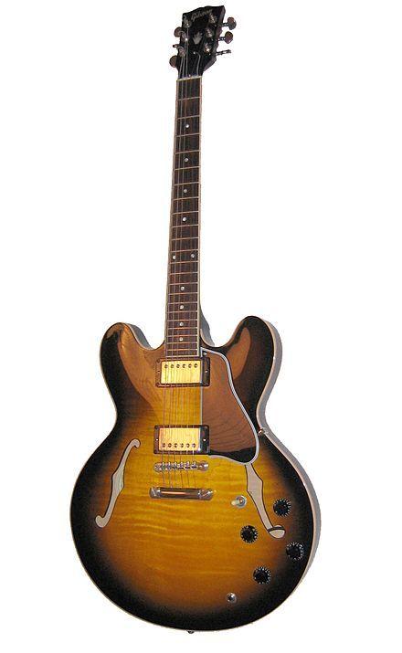 Semi-acoustic guitar - Wikipedia