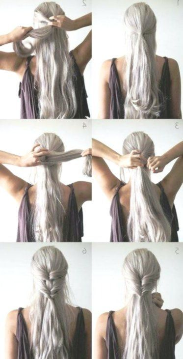 Fast Hair Hacks: 6 Simple Hairstyles for Lazy and Late Sleeper,  #FAST #Hacks #Hair #Hairstyl...